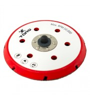 TORQ R5 Dual-Action Red Backing Plate with Advanced Hyper Flex Technology (6 Inch)