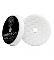 Hex-Logic Quantum Light-Medium Polishing Pad, White (6.5 Inch)