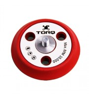 TORQ R5 Dual-Action Red Backing Plate with Hyper Flex Technology (3 inch)