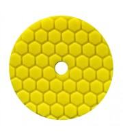 HEX-LOGIC QUANTUM HEAVY CUTTING PAD, YELLOW (5.5 INCH)