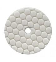 Hex-Logic Quantum Light-Medium Polishing Pad, White (5.5 Inch) - baza prindere 5 Inch