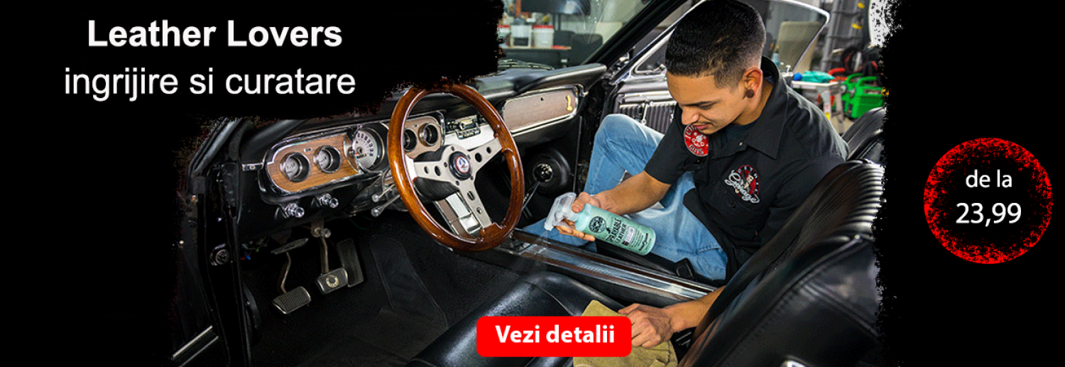 leather cleaner ingrijire piele naturala chemical guys