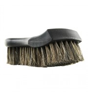 Premium Select Horse Hair Interior Cleaning Brush for Leather, Vinyl, Fabric, and More