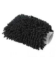 Chenille Microfiber Premium Scratch-Free Wash Mitt, Black