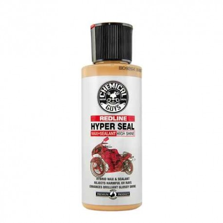 Moto Line, Redline Hyper Seal High Shine Wax and Sealant for Motorcycles (118 ml)