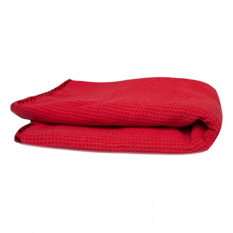 The Red Waffle Weave Towel