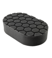 Hex-Logic Finishing Hand Applicator Pad, Black (7,5 x 15 x 2,5 cm)