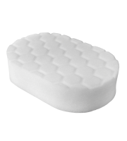 Hex-Logic Polishing Hand Applicator Pad, White (7,5 x 15 x 2,5 cm)