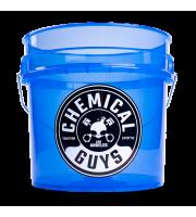 Heavy Duty Detailing Bucket,Blazind Transparent Blue
