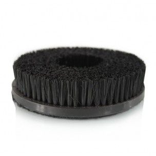 Carpet Brush with Hook & Loop Attachment
