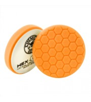 HEX-LOGIC MEDIUM-HEAVY CUTTING PAD, ORANGE (4 INCH)