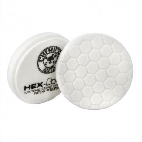 HEX-LOGIC LIGHT-MEDIUM POLISHING PAD, WHITE (4 INCH)