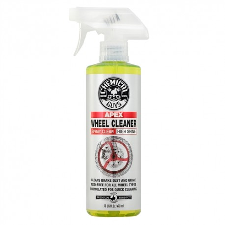 MOTO LINE, APEX WHEEL CLEANER SPRAY ON, WIPE OFF WHEEL AND TIRE CLEANER FOR MOTORCYCLES