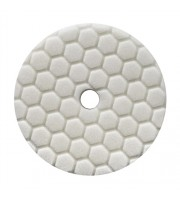 Hex-Logic Quantum Light-Medium Polishing Pad, White (5.5 Inch) - baza prindere 5 Inch